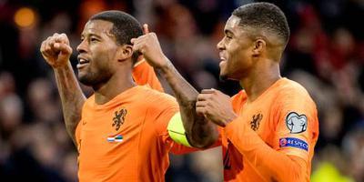 Oranje verslaat Estland met 5-0