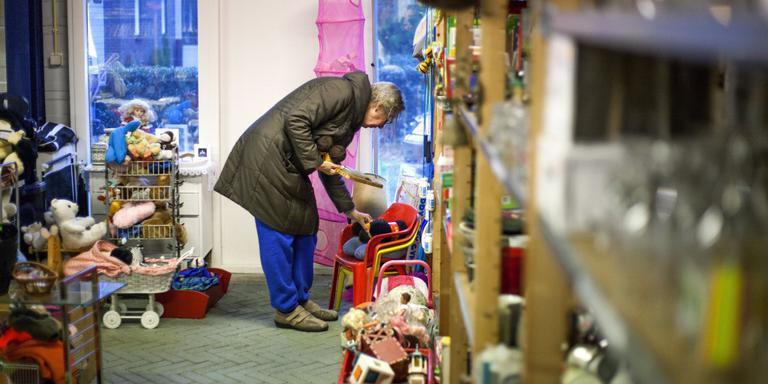 De ruilwinkel in Sellingen heeft al 300 leden