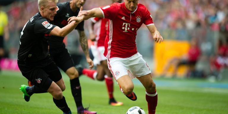 Eerste averij Bayern in Bundesliga