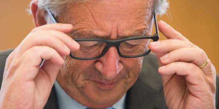 Juncker: te veel scheuren in EU-gebouw
