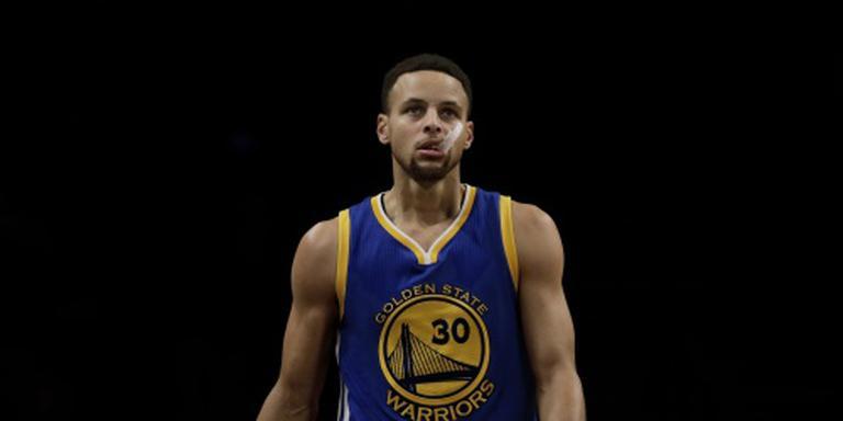 Rentree Curry bij Warriors van korte duur
