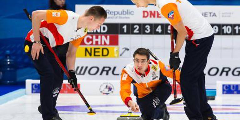 Spelen ver weg voor curlingteam na verlies