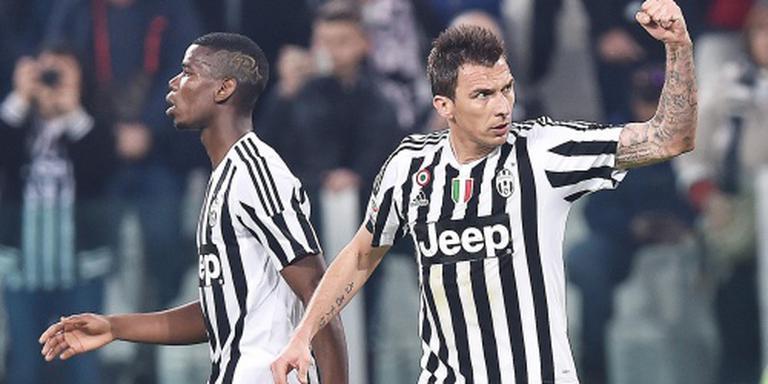 Juventus blijft winnen in Serie A