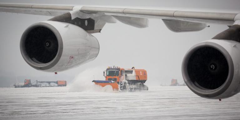 United staakt vluchten Washington door sneeuw