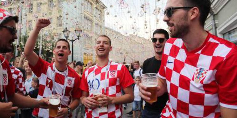 Frankrijk en Kroatië strijden om wereldtitel