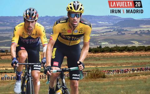 In Beeld: La Vuelta, de strijd om het rood