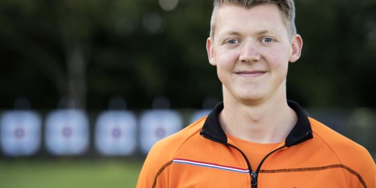 Handboogschutter Van den Berg verliest finale