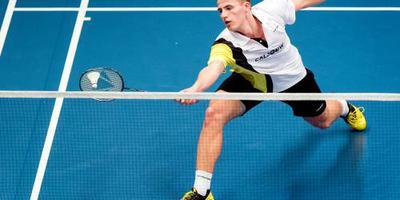 Badmintonner Caljouw naar laatste vier