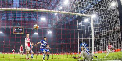 Ten Hag en De Jong genieten van Ajax