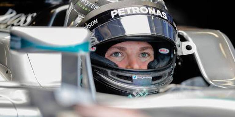 Rosberg lost eindelijk belofte in