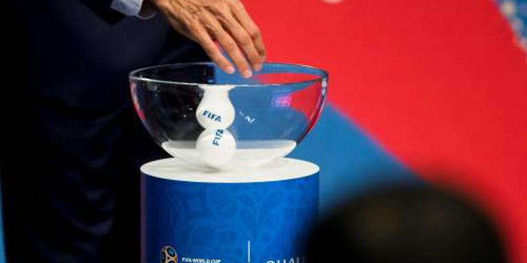 Maximaal twee Europese landen in één groep WK