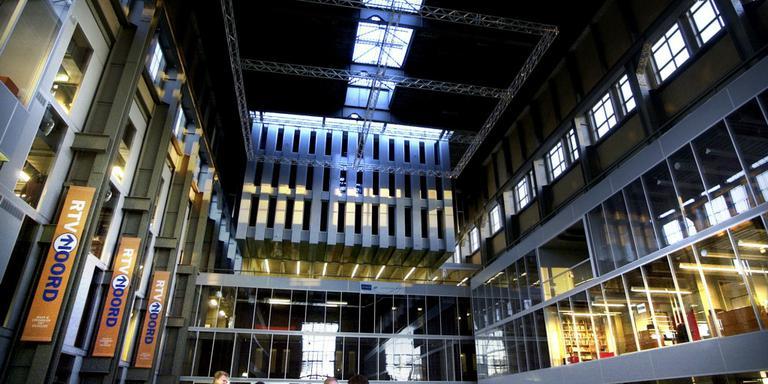 De Mediacentrale, het huidige onderkomen van RTV Noord. FOTO CORNE SPARIDAENS