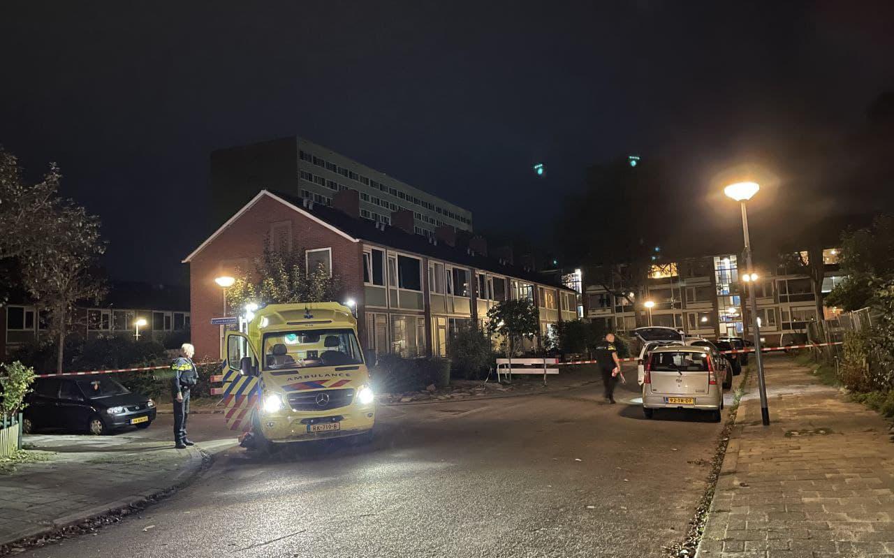 Schietpartij in Selwerd in Groningen.
