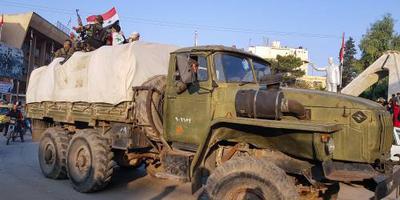 Syrisch leger neemt strategische plaats in