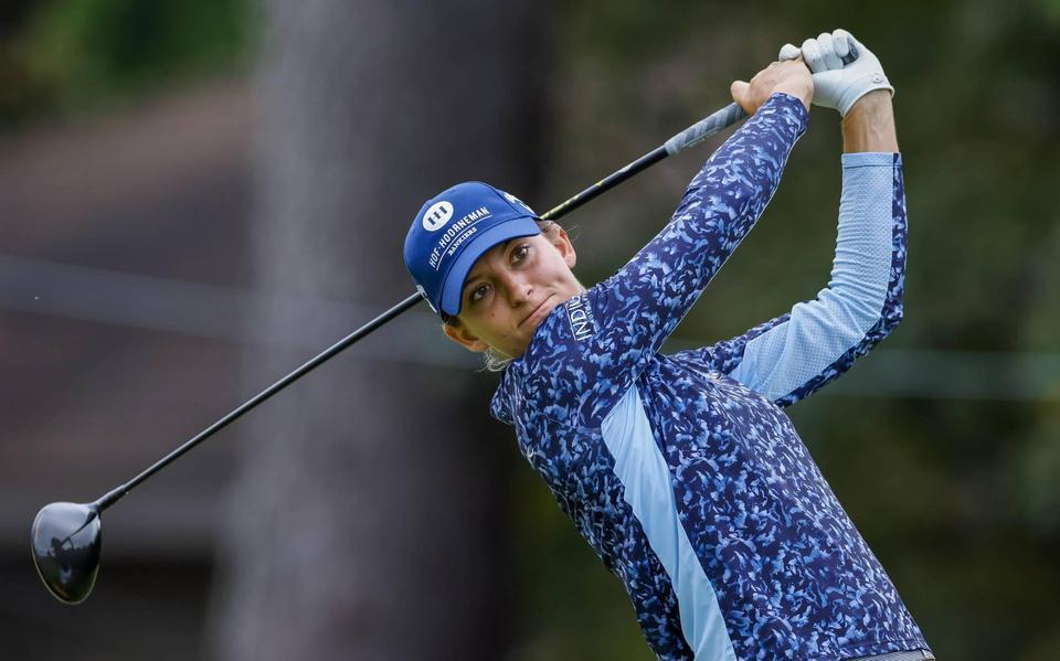 Slechte tweede ronde voor golfster Van Dam op Spelen