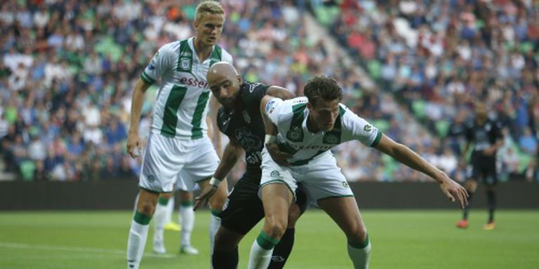 Vorige week speelde FC Groningen gelijk tegen Heracles (0-0). FOTO ANP