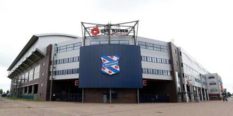 Het stadion van sc Heerenveen. Foto: ANP