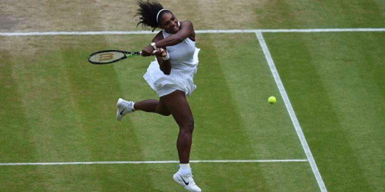 Ontsteking houdt Serena Williams aan de kant