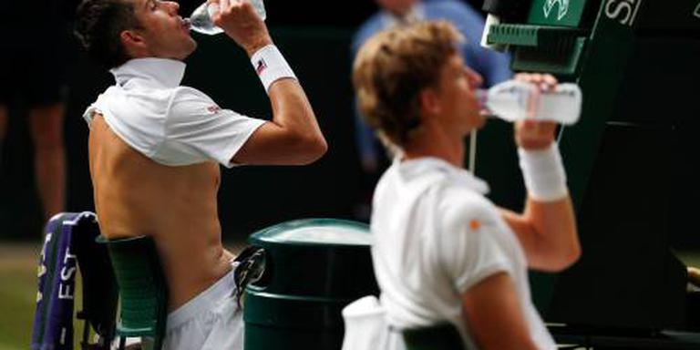 Anderson na marathonpartij in finale Wimbledon