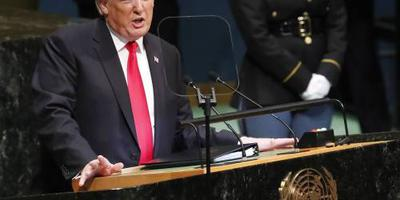 Trump zet Iran weg als corrupte dictatuur