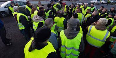 Demonstrant gele hesjes gedood bij aanrijding