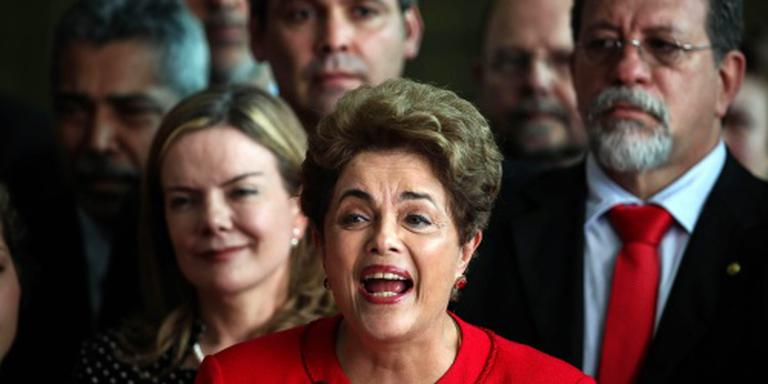 Rousseff noemt afzetting rechtse coup