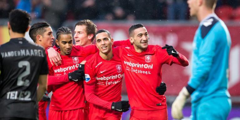 FC Twente boven degradatiestreep