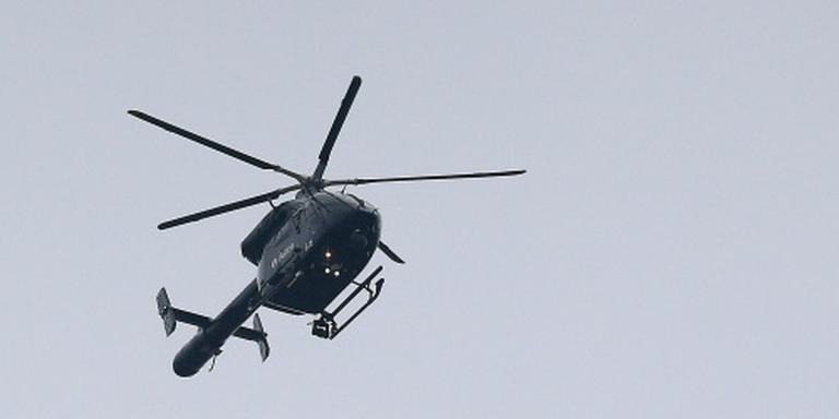 Mannen opgepakt voor smokkel met helikopter