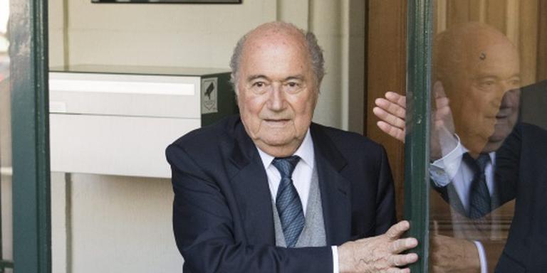 Blatter op 25 augustus bij sporttribunaal CAS