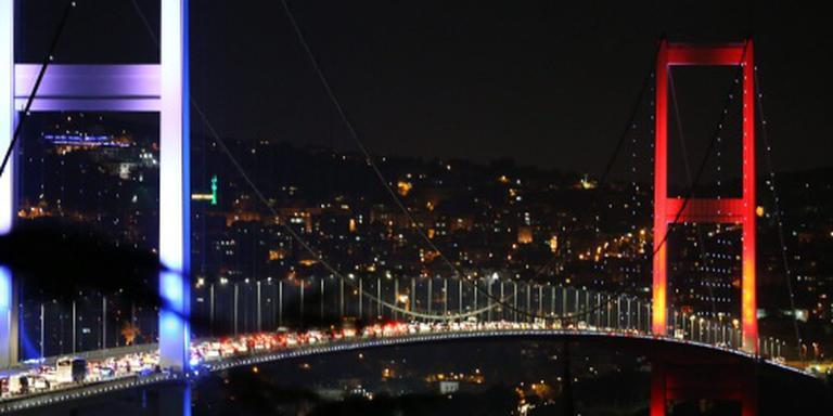 Gewonden bij brug over Bosporus