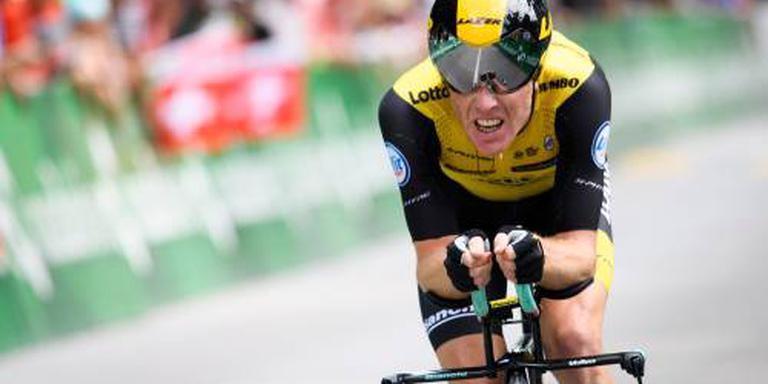 Kruijswijk stijgt in Vuelta naar derde plek