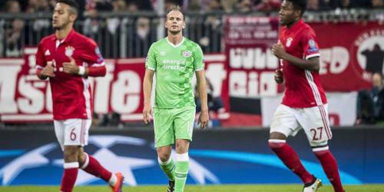 PSV kan niet stunten bij Bayern