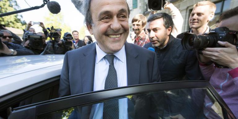 Platini wil UEFA-congres toespreken