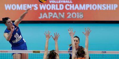 Volleybalsters strijden tegen China om brons