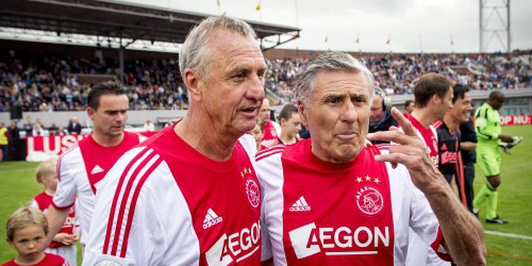 Oud-ploeggenoten rouwen om Johan Cruijff