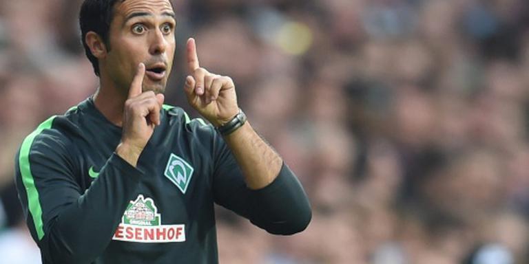Nouri blijft hoofdtrainer Werder Bremen