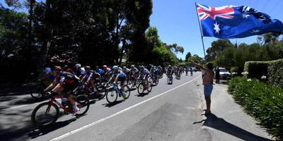 Rit Tour Down Under korter vanwege hitte