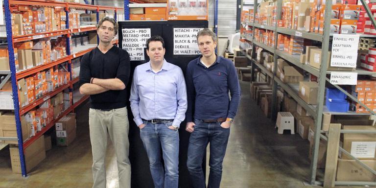 Martijn Mulder, Martijn Evertse en Marcel van der Ark veroveren vanuit Groningen de accuwereld