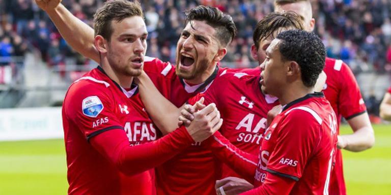 Janssen scoort vier keer voor AZ