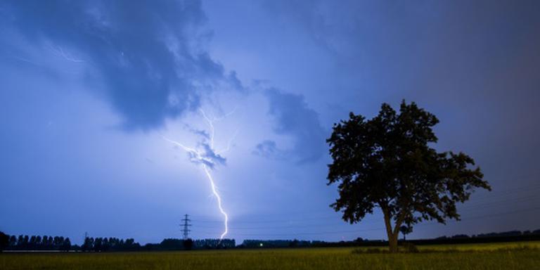 Weerplaza waarschuwt voor zware onweersbuien