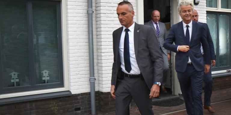 Wilders op bezoek in onrustig Maassluis
