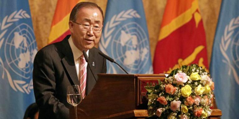 Ban Ki-moon wil ratificatie klimaatverdrag