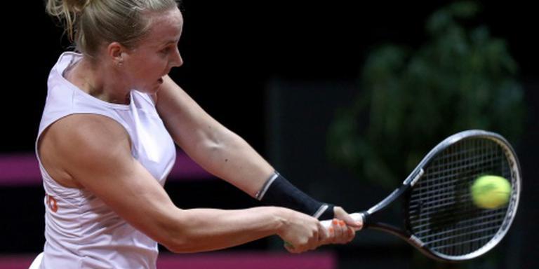 Hogenkamp onderuit in tweede ronde US Open