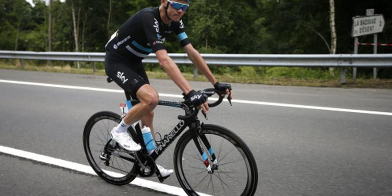 Froome wint bergetappe Tour in de afdaling