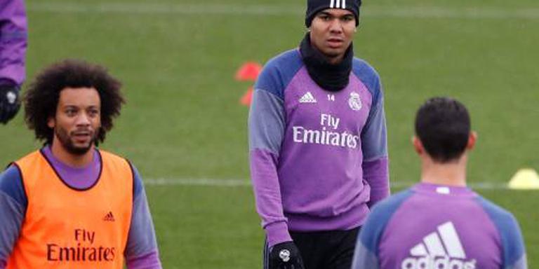Casemiro terug bij Real Madrid