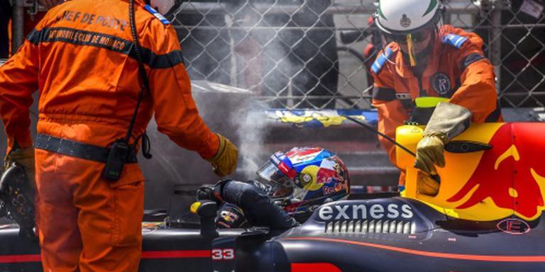 Verstappen valt uit in GP Monaco