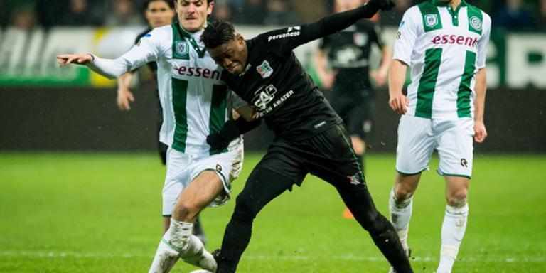 NEC pakt punt bij FC Groningen