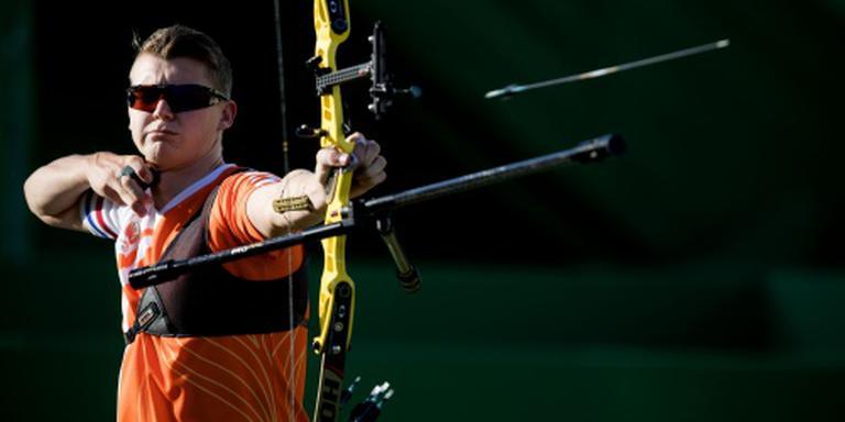 Van den Berg mist kans op olympische medaille