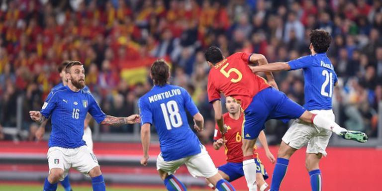 Spanje verzuimt wraak te nemen op Italië: 1-1