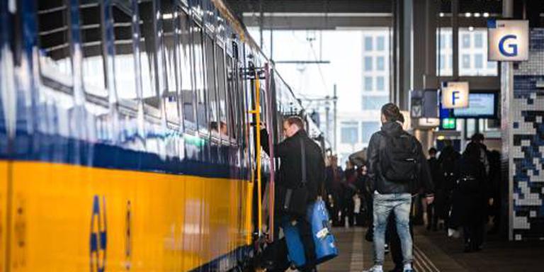 Meer treinen op tijd in eerste helft 2018